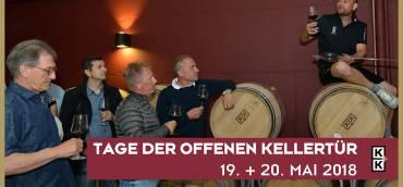 19. und 20. Mai 2018 – TAG DER OFFENEN KELLERTÜR