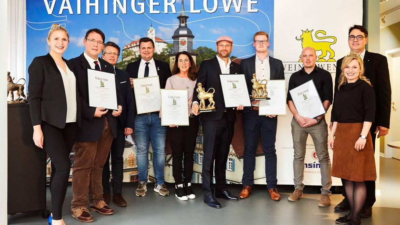Sieg mit der Blaufränkisch Gold Reserve beim Vaihinger Löwe