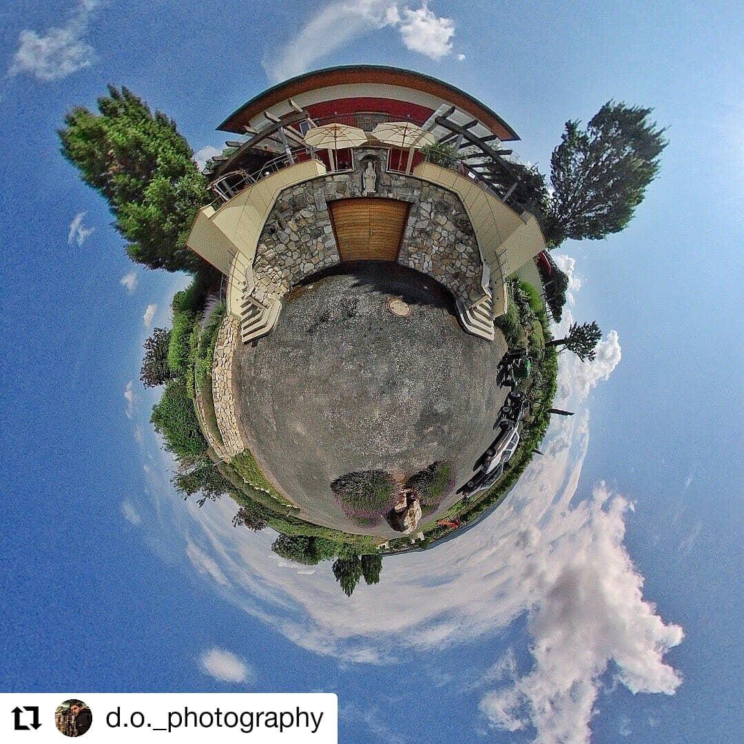 Unsere Terrasse in 360°  Danke für die tolle Aufnahme!  #cen…