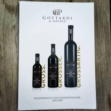 Das neue Cover von @gottardi_feineweine Katalog finden wir G…