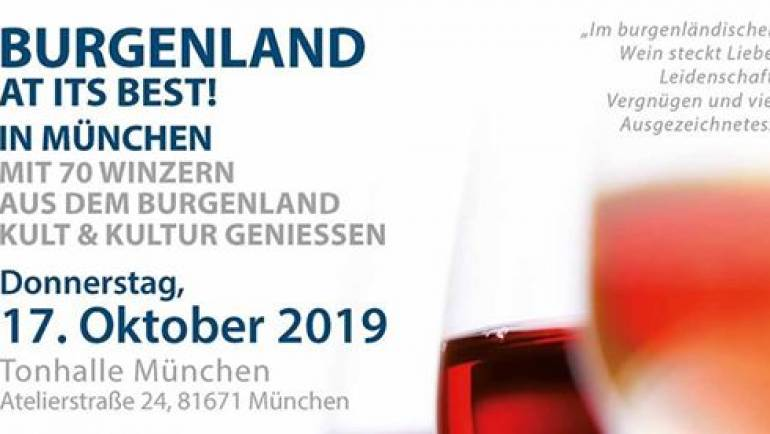 Wein Burgenland Präsentation in München