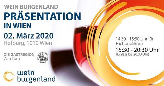 Wein Burgenland Präsentation in der Wiener Hofburg