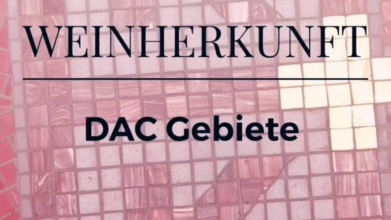 Weinherkunft – DAC Gebiete ansehen