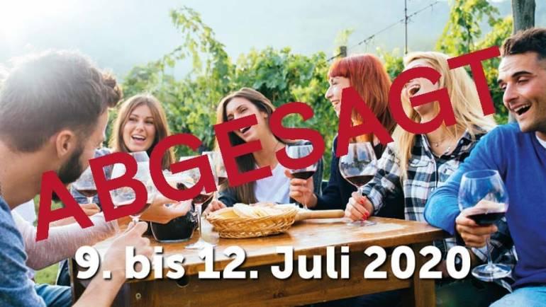Leider wird es dieses Jahr kein Rotweinfestival stattfinden…