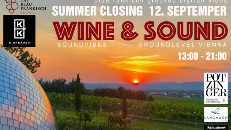 Wine&Sound / blaufränkisch grooved styrian vibes *SUMMER CLOSING*