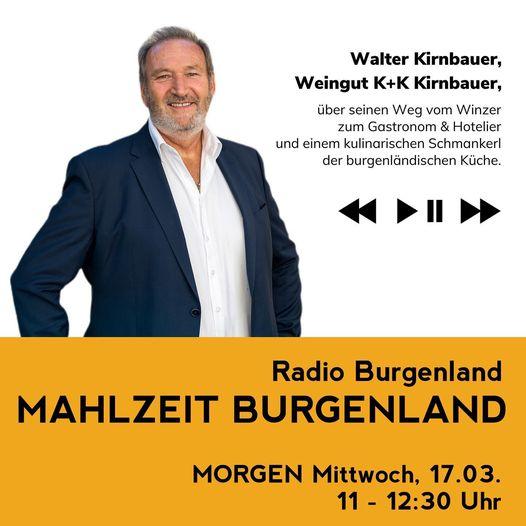 NICHT VERPASSEN!!  +++ MORGEN EINSCHALTEN +++  Walter Kirnba…